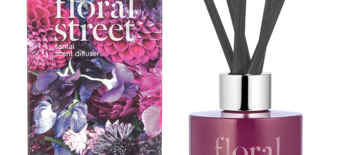 Floral Street scent diffuser and box
