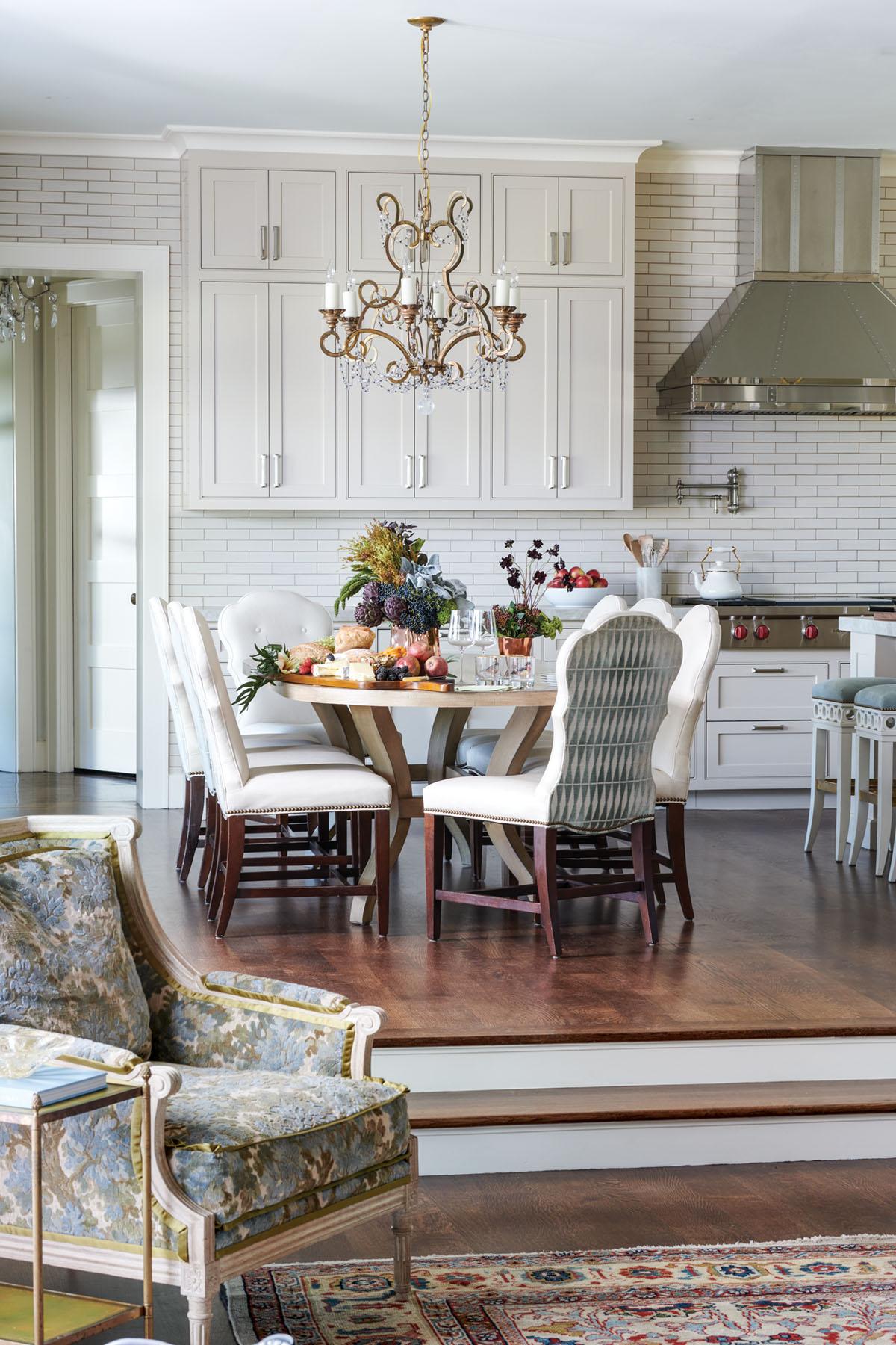 dining area by interior designer Trish Sheats