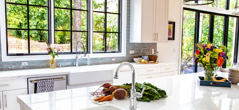 porcelain slab kitchen countertops