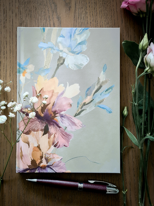 Safiyyah Choycha floral notebook