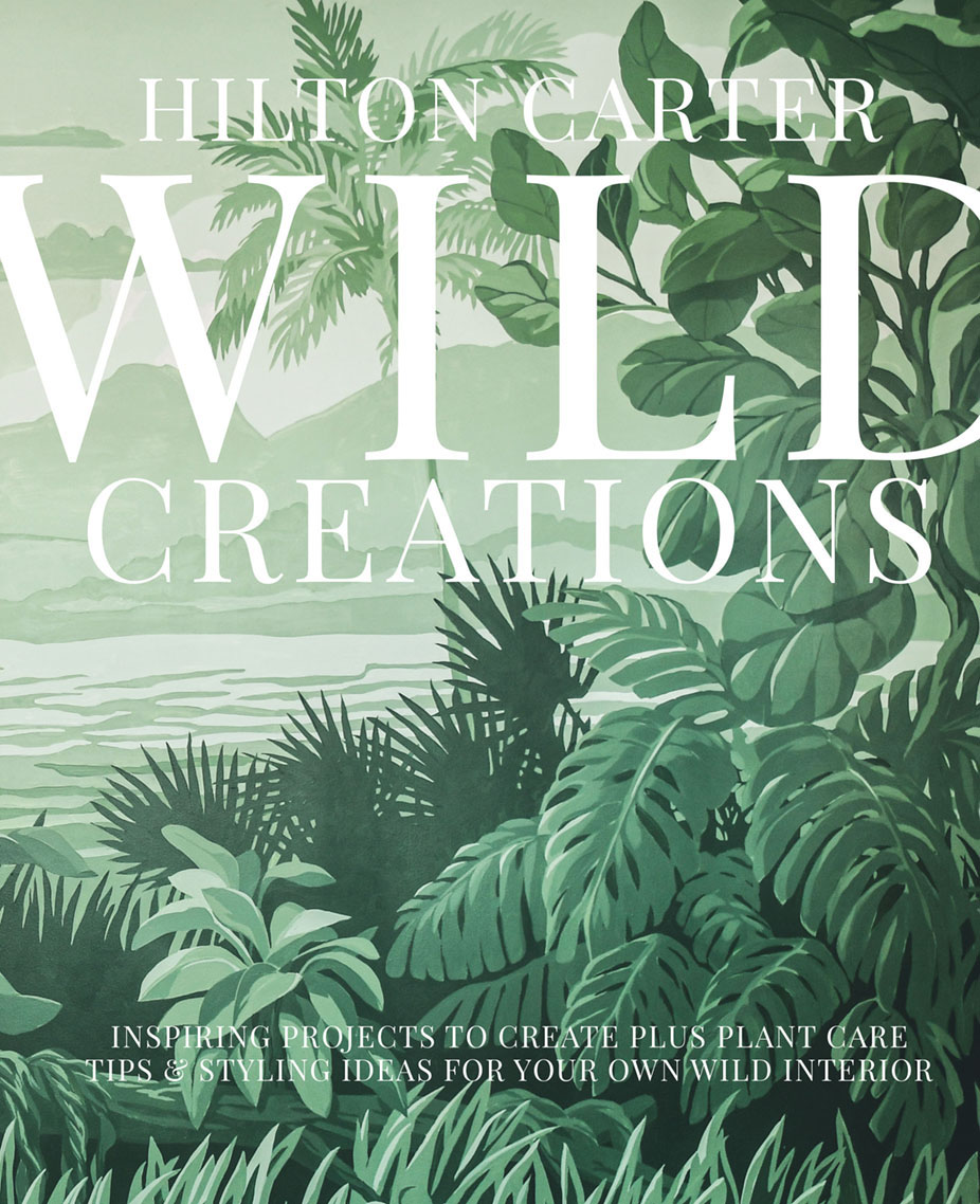 book cover for wild creations by Hilton Carter